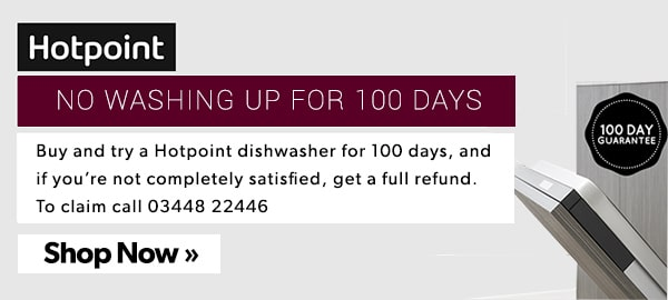Hotpoint 100 Day Money Back Guarantee