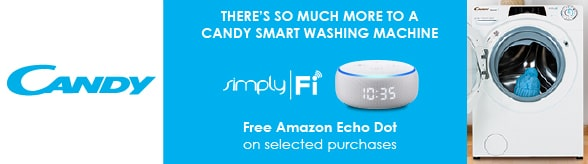 Candy Connected - FREE Echo Dot