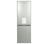 LEC 444443511 TF60185WTD 60cm Wide Frost Free Fridge Freezer With Water Dispenser Silver