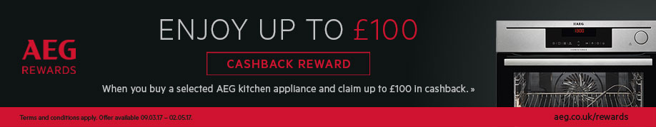 AEG Cashback Deal Offer
