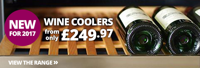 Wine Coolers from only £249.97