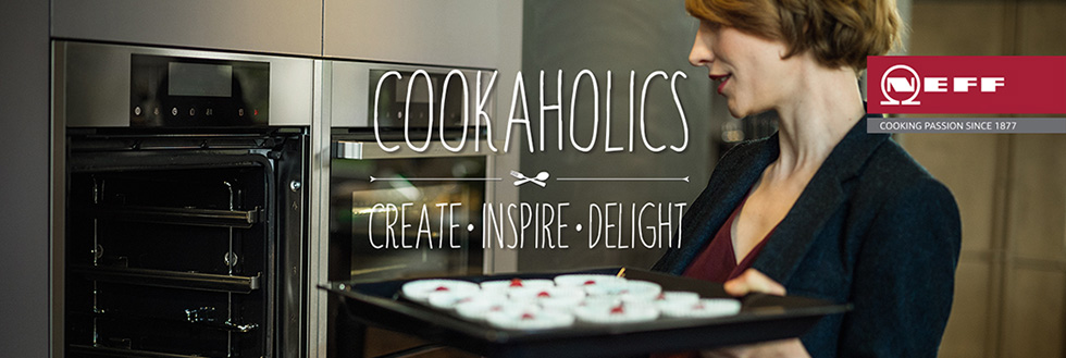 Cookaholics: Creat. Inspire.Delight.
