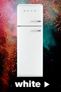 Smeg Fridge Freezers in white