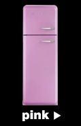 Smeg Fridge Freezers in pink