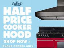 Belling half price hood