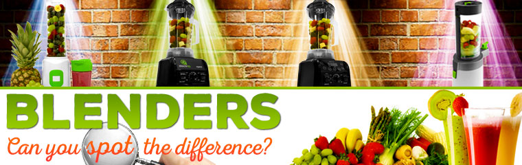 blenders spot the difference