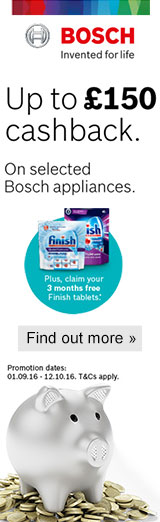 Bosch Cashback September 2016