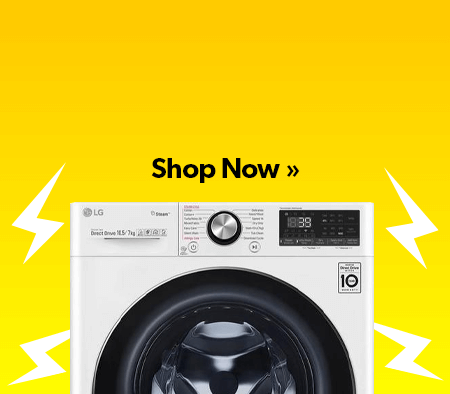 refurbished washer dryers banner.