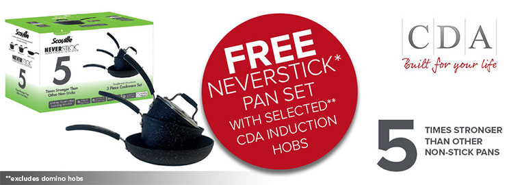 CDA Free Neverstick Pan Set