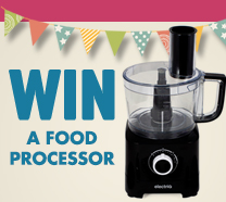 Win a electriQ Food Processor