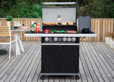 Elite Gas BBQ Range category tile.