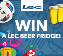 Euro 2016 Win LEC Beer Fridge