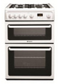 60cm Gas Cooker Double Ovens