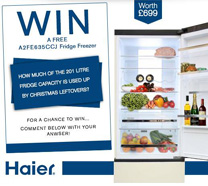 Haier Fridge Freezer Competition