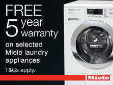 Miele 5 year warranty