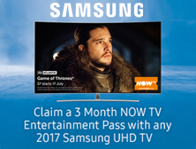 Samsung now TV promo