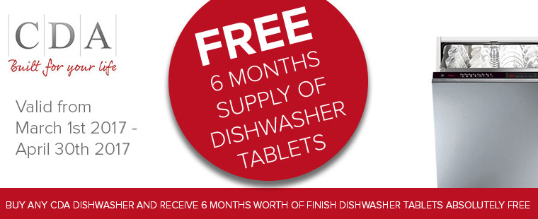 CDA Dishwasher Offer