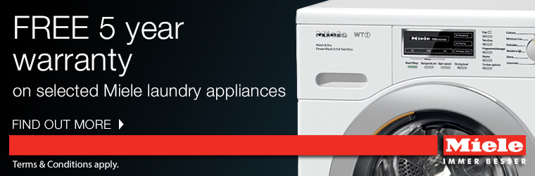 Miele 5 Year Warranty Offer