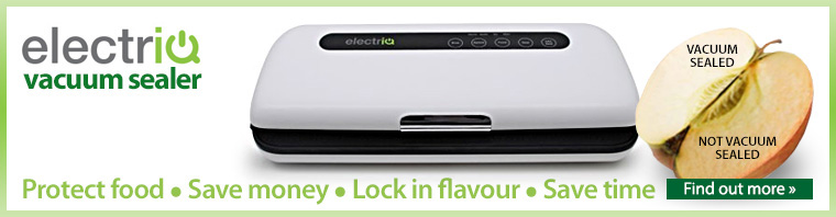 The electriQ Vacuum Sealer
