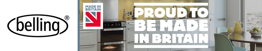 Belling Range Cooker and Microwave