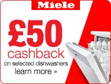 Miele Dishwasher Cashback