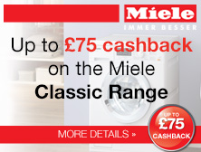 Miele up to 75 cashback promotion