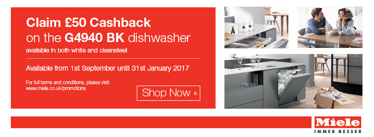 Miele 50 Pounds cashback