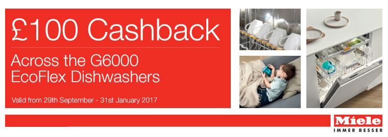 Miele Dishwasher £100 Cashback