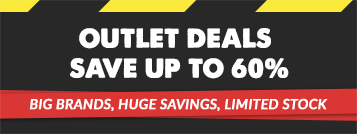 Outlet Deals - Save up to 60%