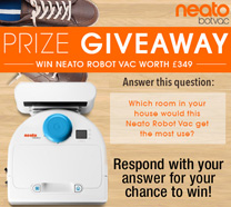 Win a Neato Robot Vac