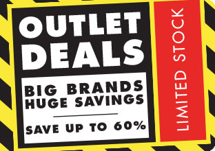Outlet Deals Banner