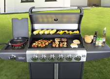 Premium Gas BBQ Range category tile.
