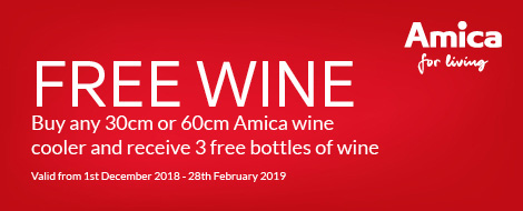 Amica free wine promotion