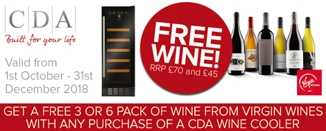 CDA wine cooler offer