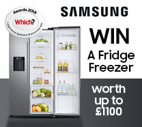 Win a Samsung Fridge Freezer