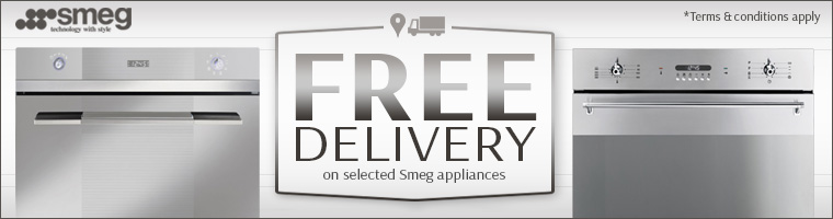 Smeg Free Delivery Offer