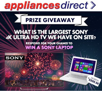 Win a Sony Laptop