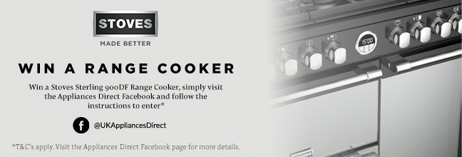 stoves facebook giveaway homepage