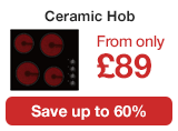 ElectriQ Ceramic hobs from £99