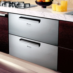 Slimline under counter fridge freezer