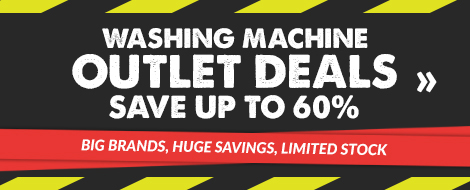 Washing machine outlet deals