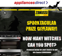 Zanussi Halloween Competition