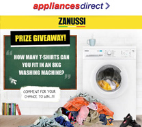 Zanussi Washing Machine Competition