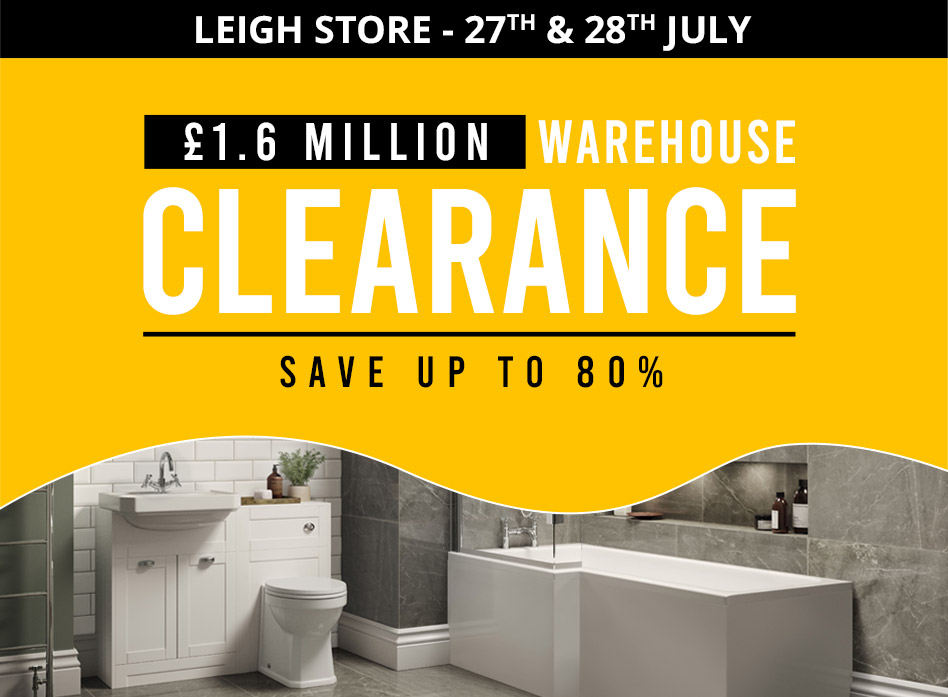 Better Bathrooms Leigh Warehouse Clearance