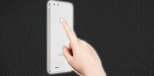 Cubot S550 secure fingerprint scanner