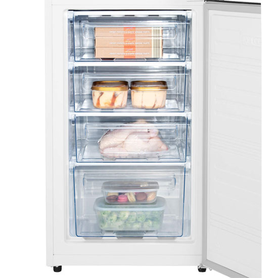 Hisense RB320D4WW1 fridge freezer with 50/50 split