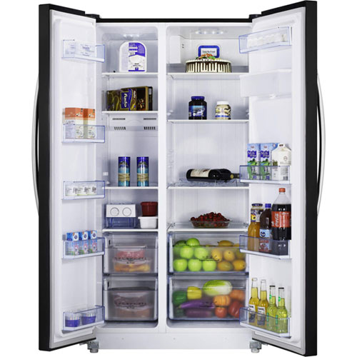 Hisense RS723N4WB1 American Fridge Freezer with Twist Ice Maker and Water Dispenser