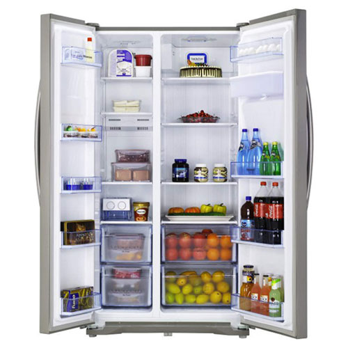 Hisense RS723N4WC1 American Fridge Freezer with Twist Ice Maker and Water Dispenser