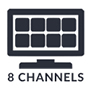 8 Channels