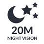 Nightvision 20m